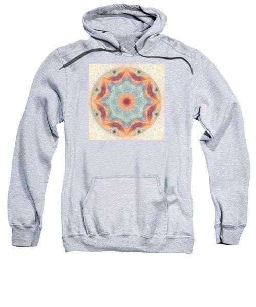 Swirls Of Love Mandala Sweatshirt