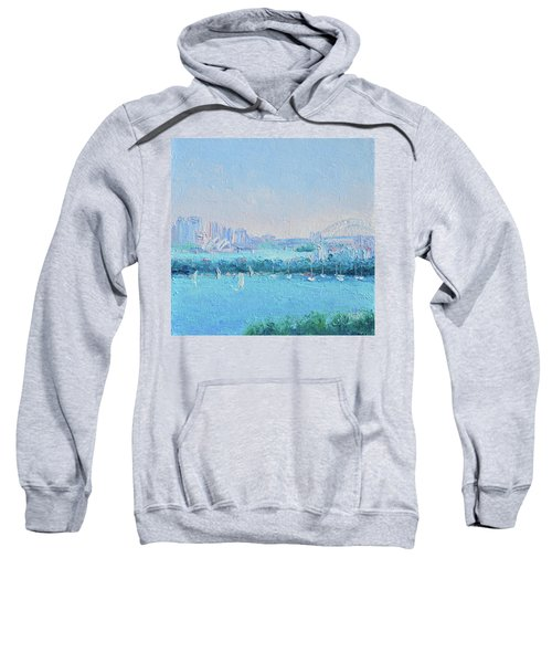 Sydney Harbour And The Opera House Sweatshirt by Jan Matson