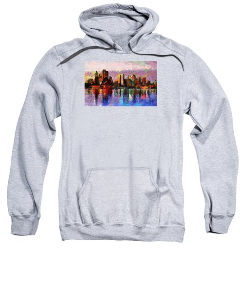 Sydney Here I Come Sweatshirt by Sir Josef - Social Critic - ART