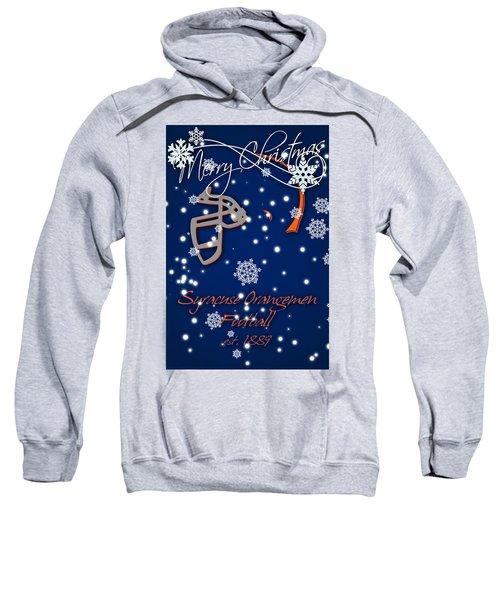 Syracuse Orangemen Christmas Card Sweatshirt