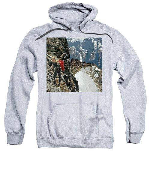 T-04403 Walt Buck Sellers On First Ascent Of Mt. Torment Sweatshirt