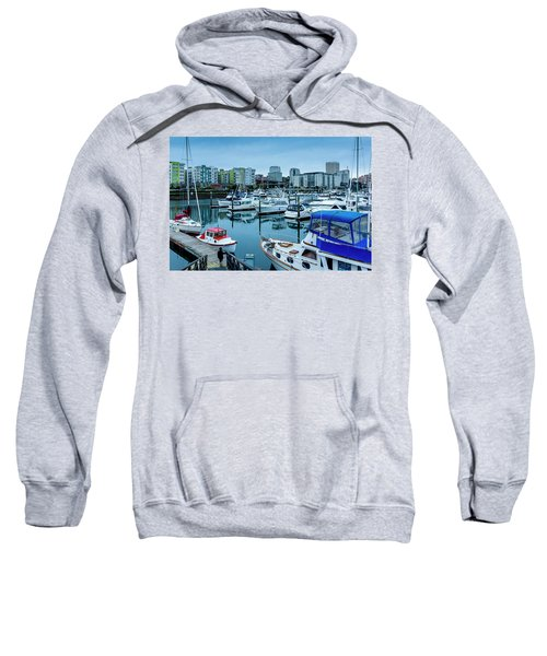 Tacoma Waterfront Marina,washington Sweatshirt