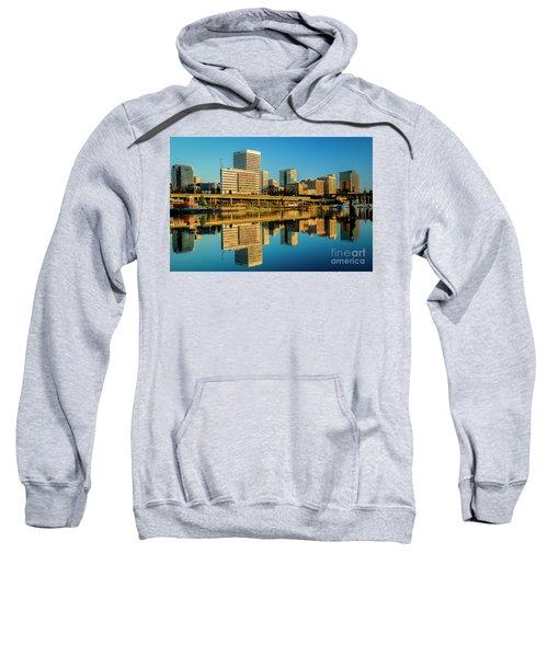Tacoma's Waterfront,washington Sweatshirt