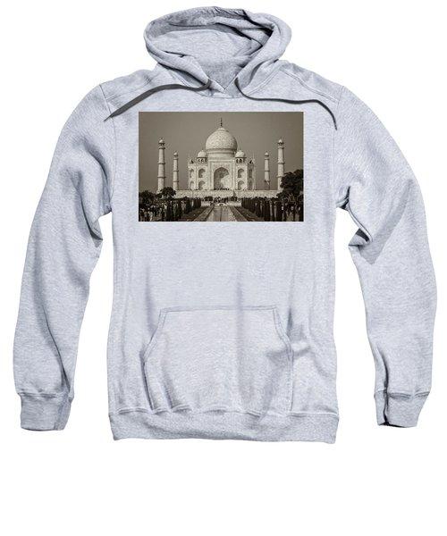 Taj Mahal Sweatshirt by Hitendra SINKAR