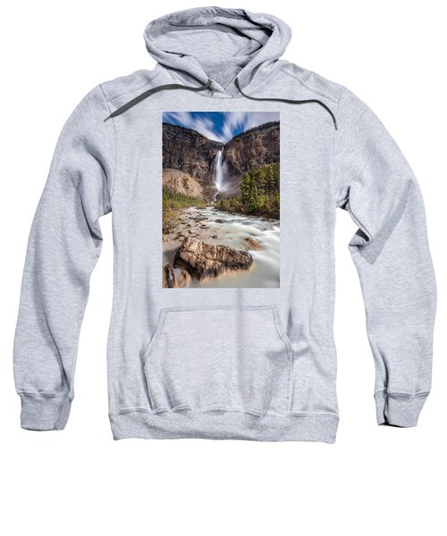 Takakkaw Falls   Sweatshirt