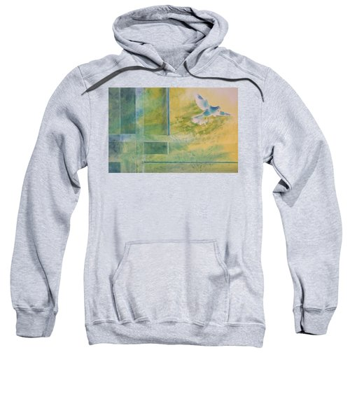 Taking Flight To The Light Sweatshirt