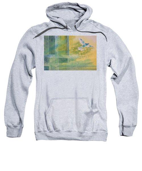 Taking Flight To The Light Sweatshirt