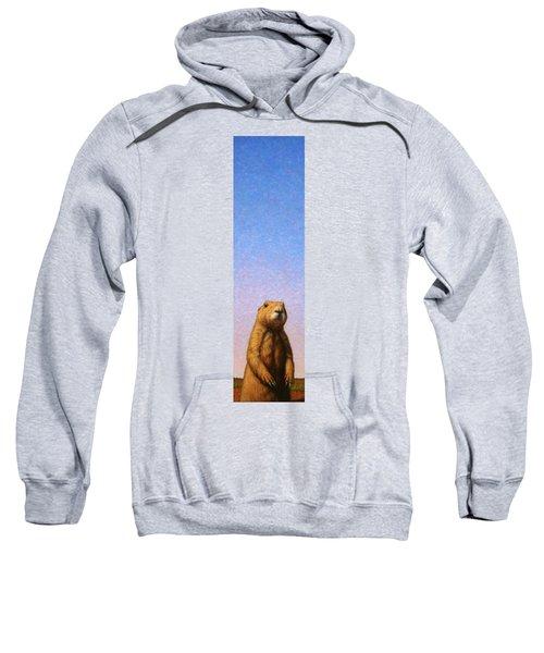 Tall Prairie Dog Sweatshirt by James W Johnson