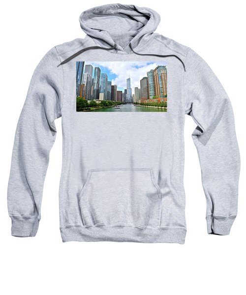 Tall Towers In Chicago Sweatshirt