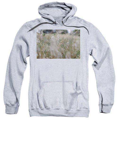 Tall Wild Grass Growing In A Meadow Sweatshirt