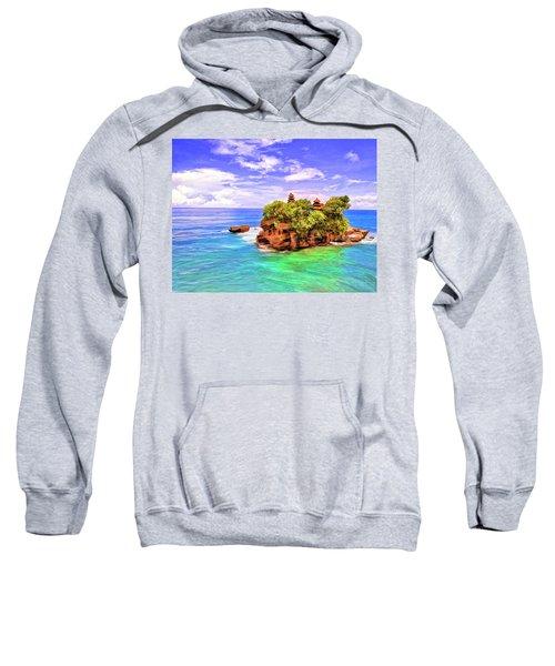 Tanah Lot Temple Bali Sweatshirt