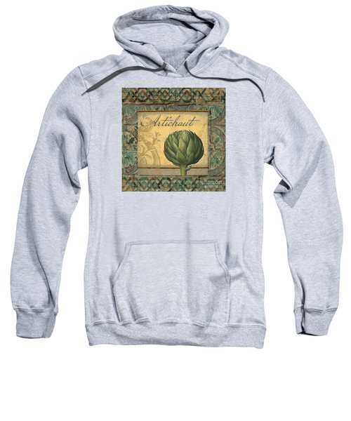 Tavolo, Italian Table, Artichoke Sweatshirt by Mindy Sommers