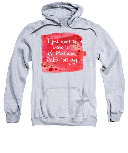 Tea And Paint Sweatshirt