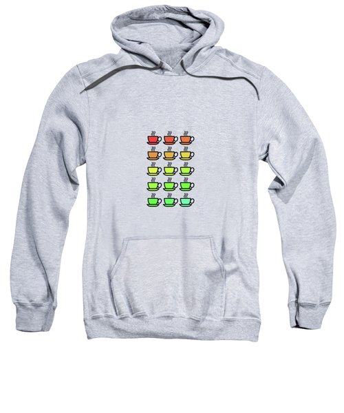 Tea Cups Sweatshirt