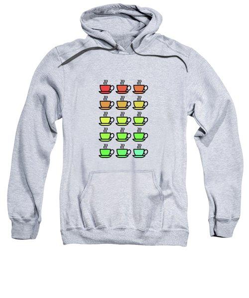Tea Cups Sweatshirt