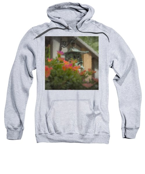 Tea Lantern And Portulaca Sweatshirt