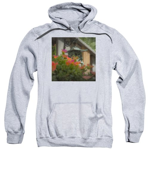 Tea Lantern And Portulaca Sweatshirt