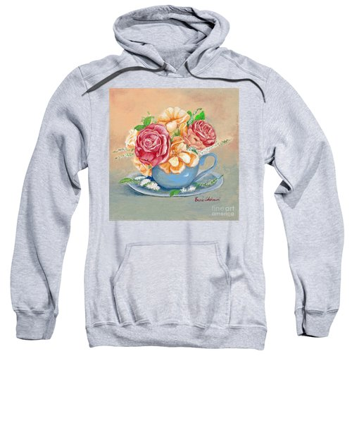 Tea Roses Sweatshirt