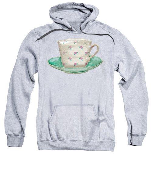 Teacup Garden Party 2 Sweatshirt