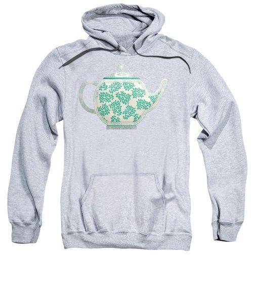 Teapot Garden Party 1 Sweatshirt