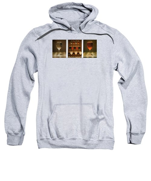 Sweatshirt featuring the photograph Tears And Wine by James Lanigan Thompson MFA