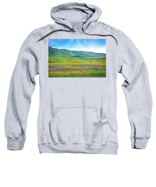Tejon Ranch Wildflowers Sweatshirt