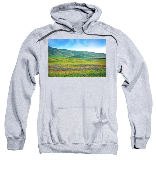 Tejon Ranch Wildflowers Sweatshirt