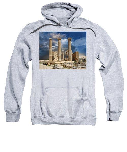 Temple Of Athena Sweatshirt