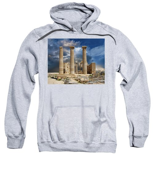 Temple Of Athena Sweatshirt