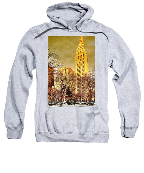 Ten Past Four At Madison Square Park Sweatshirt