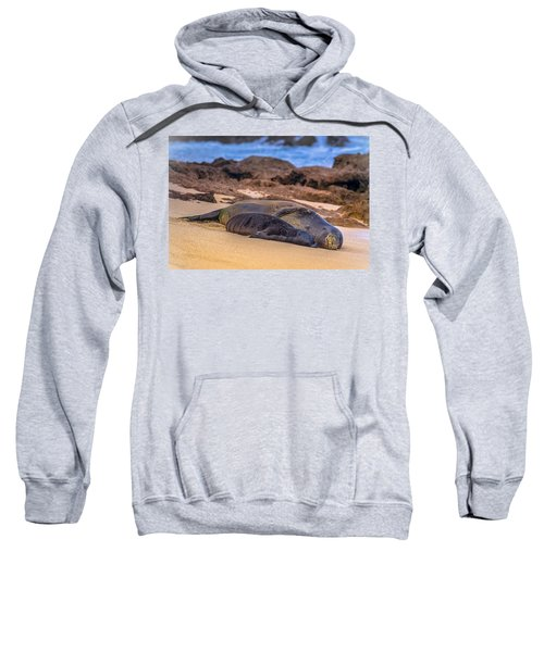 Tender Moment -- Ua Malie And Po4 Sweatshirt