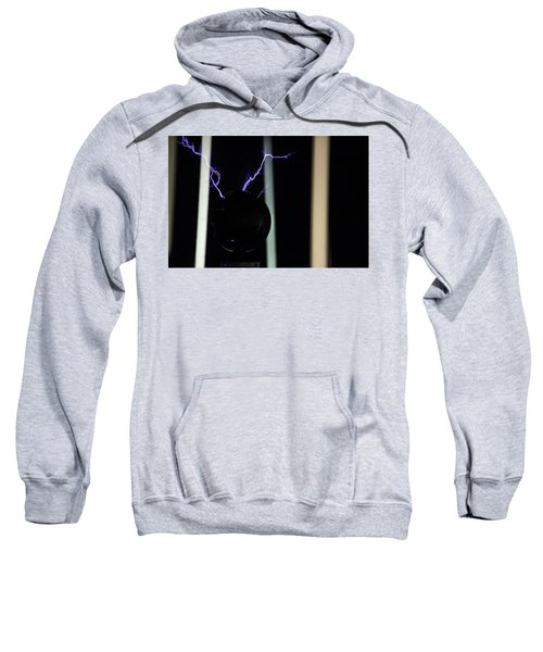 Tesla Coil 5 Sweatshirt