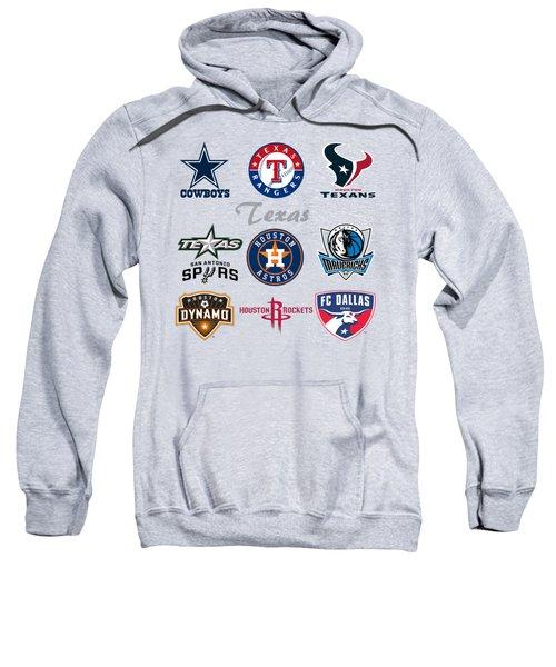 Texas Professional Sport Teams Sweatshirt