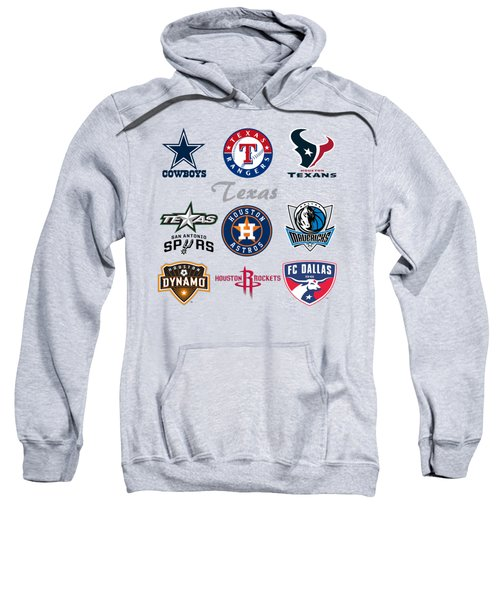 Texas Professional Sport Teams Sweatshirt