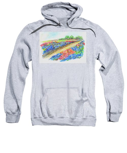 Texas Wild Flowers Sweatshirt
