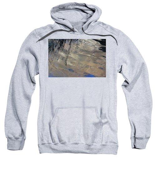 Texture In Grey Sweatshirt