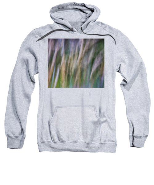 Textured Abstract Sweatshirt