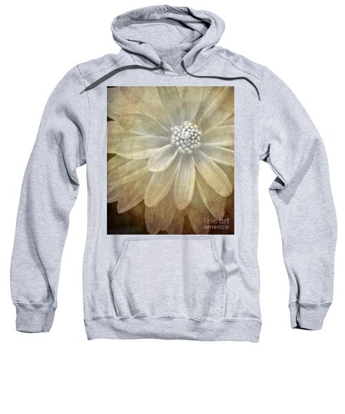 Textured Dahlia Sweatshirt