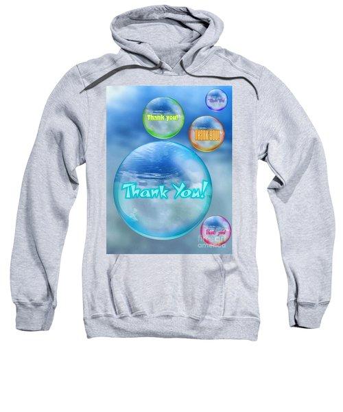 Thank You Bubbles Sweatshirt