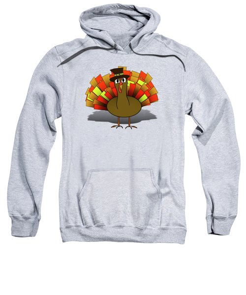 Thanksgiving Turkey Pilgrim Sweatshirt
