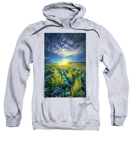 That Voices Never Shared Sweatshirt by Phil Koch