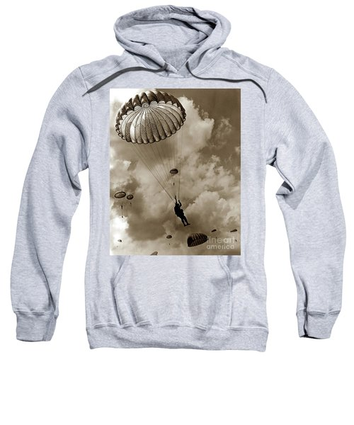 The 82nd Airborne  Hits The Silk Fort Ord 1953 Sweatshirt