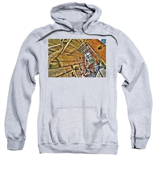 The Abandoned Furnace Quarry Building Sweatshirt