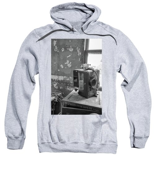 The Abandoned Projector Bw Sweatshirt