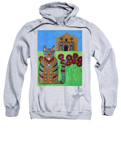 the Alamo Cat Sweatshirt