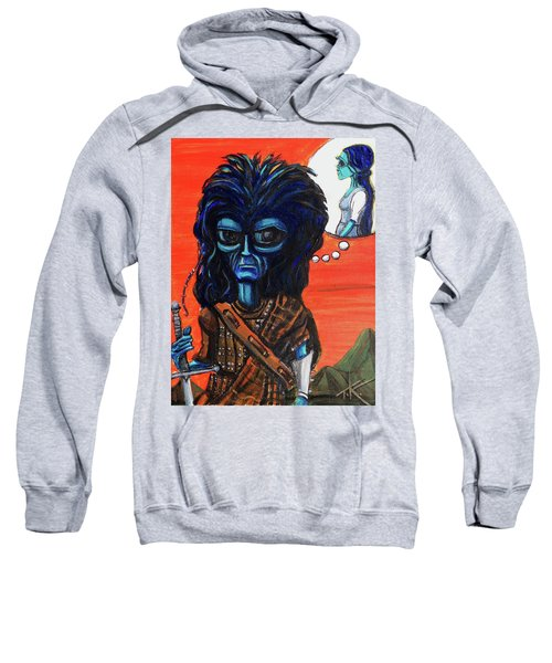 The Alien Braveheart Sweatshirt
