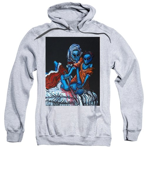 The Alien Judith Beheading The Alien Holofernes Sweatshirt