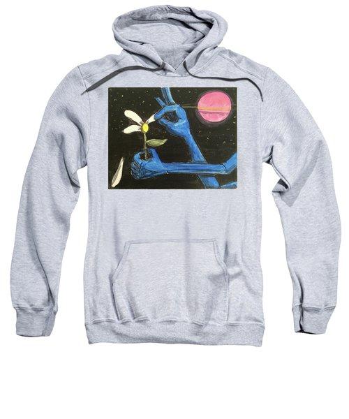 The Alien Loves Me... The Alien Loves Me Not Sweatshirt