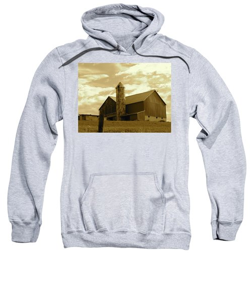 The Amish Silo Barn Sweatshirt