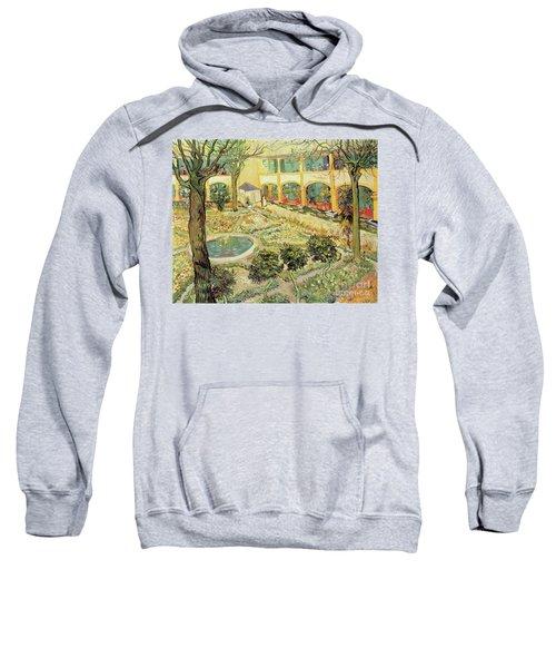 The Asylum Garden At Arles Sweatshirt